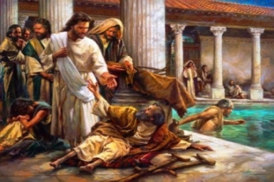 Jesus saw him (...) 'Do you want to be healed?': Tuesday 4th of Lent (Mar. 17th)