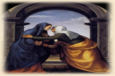 The most blessed among women: Gospel by pictures of Sunday 4th (C) of Advent (23-Dec-2012)