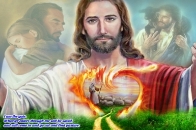 Gospel by pictures: Sunday 4th of Easter (May 11st)