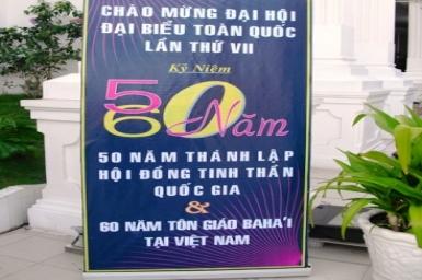 The 60th Anniversary of The Bahá'í Faith in Vietnam