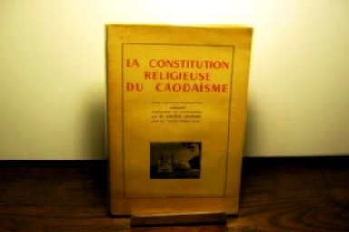 Phap-chanh-truyen (1): The religious constitution of Caodaism