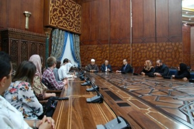 WCC ECHOS Commission visits Al Azhar Mosque and University and Coptic Orthodox Patriarchate in Cairo