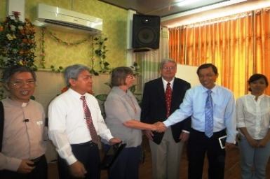 First visit to the Pentecostal Assemblies of Vietnam