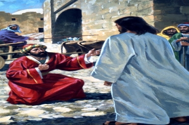 """""""That Jesus had come from Judea to Galilee"""" - Monday 4th of Lent"""