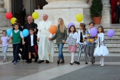 Pope issues letter to families