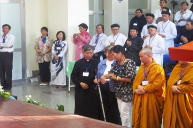 The prayers for Peace - 25th Anniversary of Inter-religious Meeting in Assisi