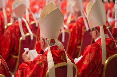 The Cardinals who will elect the Pope