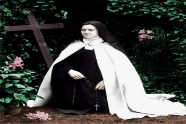Saint Therese of Lisieux `The Little Flower`(1873-1897)