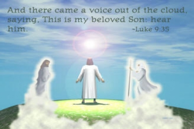 Transfiguration: Gospel by pictures of Sunday 2nd (A) of Lent