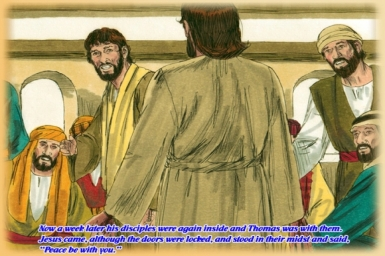 Gospel by pictures of Easter: Sunday 2nd of Easter (Apr. 27, 2014)