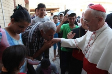 The Pope donates 1 million US dollars for Christians and other minorities in Iraq
