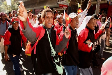 Fr. Shanti: With the young people of Papua at Rio de Janeiro World Youth Day