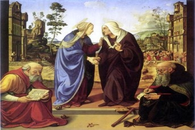 ``The baby within me suddenly leapt for joy``: Feast of the Visitation (31.5.2012)