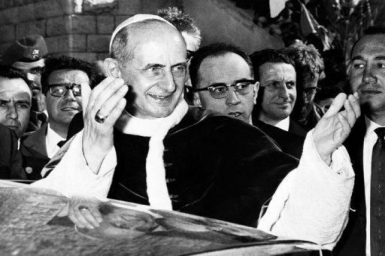 Paul VI's trip to the Holy Land 50 years ago marked he dawn of papal visits