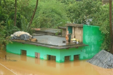 One million displaced by floods in India