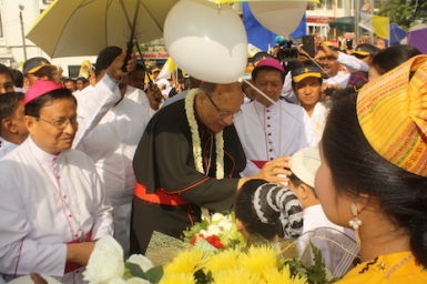 Catholic Church marks 500 years in Myanmar