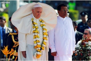 Pope Francis in Sri Lanka: encounter, encouragement, prayer