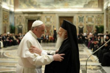 Pope Francis meets Delegation of Ecumenical Patriarchate
