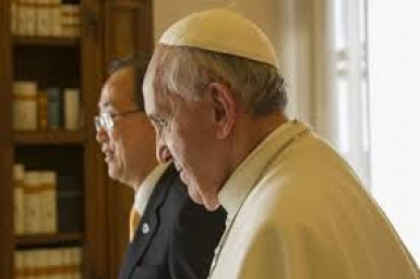 UN Secretary General Ban Ki-moon to meet Pope Francis