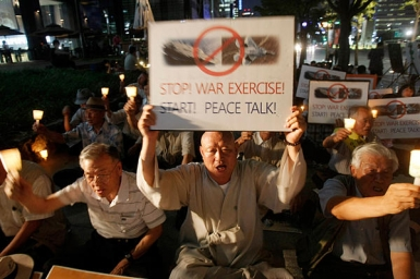 WCC general secretary calls for end to increased tension on Korean peninsula