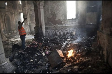 The list of Christian churches, schools, institutions, shops torched by the Muslim Brotherhood in the last three days