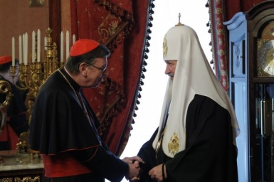 Card. Koch visits Patriarchate of Moscow