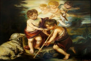 As the child grew up, he was seen to be strong in the Spiri: Birth of John the Baptist (Jun. 24th)