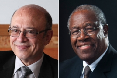 Two members of Universal House of Justice leaving after years of service