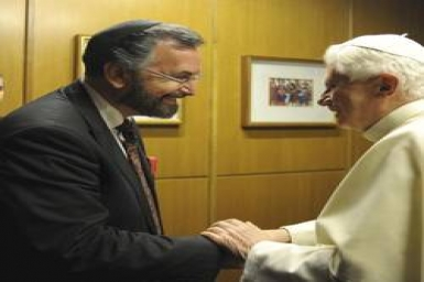 Vatican-Jewish dialogue calls for economy based on moderation, justice