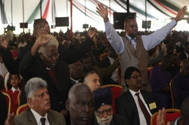 Kenya Westgate attack: Inter-faith prayers for victims