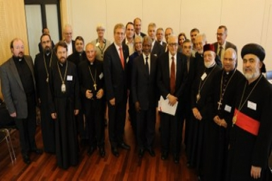 Churches urge a political solution for peace process in Syria