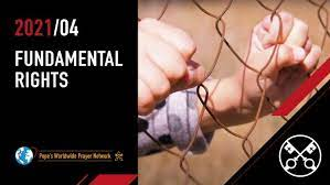 April 2021: 'For fundamental human rights'
