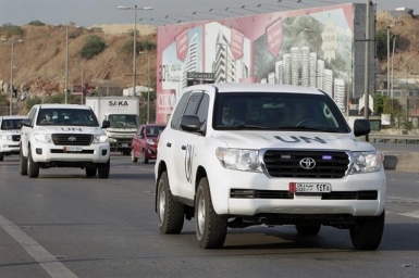 Chemical weapons inspectors arrive in Syria. Initial signs of dialogue