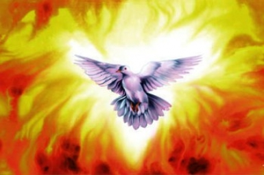 ``The Holy Spirit whom the Father will send in my name...`` - Monday 5th of Easter