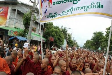Myanmar Buddhists launch fresh anti-Rohingya protests
