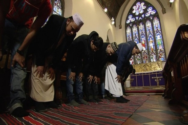 Christian Church opens doors to Muslims