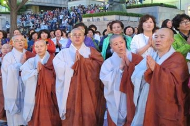 Reunification the dream for South Korea's Buddhist patriarch
