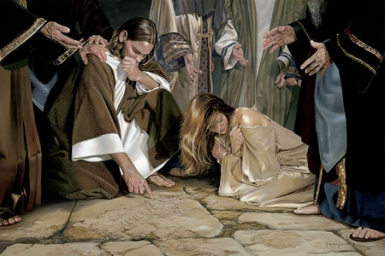 """""""Go away and don`t sin again"""" - Monday 5th of Lent"""