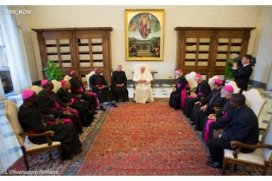 Pope to CAR bishops: Promote inter-religious dialogue