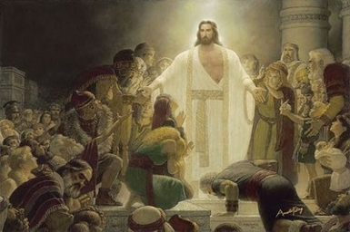 ``Look at my hands and feet and see that it is I myself`` - Sunday 3rd (B) of Easter
