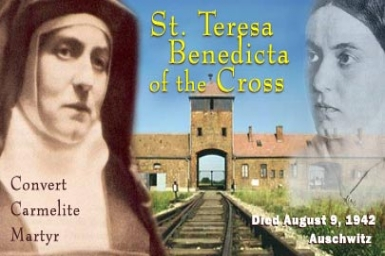 St. Teresa Benedicta of the Cross (Edith Stein) Martyr