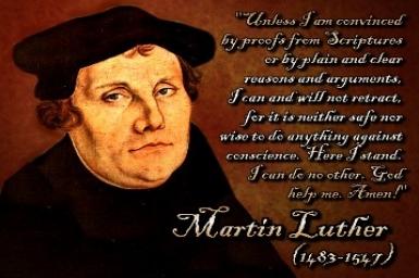 Martin Luther (1483-1546): L`initiateur de la Réforme