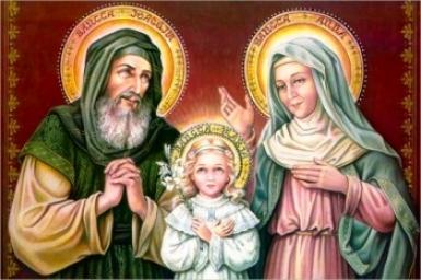 Saint Joachim et Sainte Anne, parents de la Très Sainte Mère de Dieu (26/7)