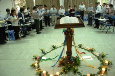 Ecumenical meeting in Pastoral Center of Saigon (Jan. 27, 2015)