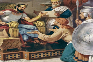 The king took pity on him and not only set him free but even canceled his debt: Tuesday 3rd of Lent