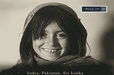 Prayer cycle - Week 43 - India, Pakistan, Sri Lanka : 21 October - 27 October 2012
