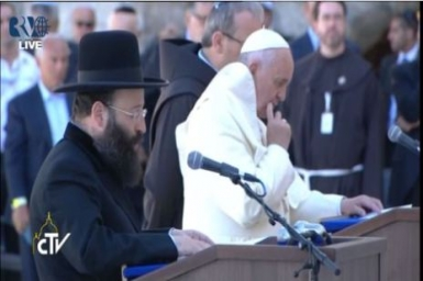Pope to Rabbis: together we can contribute to the cause of peace