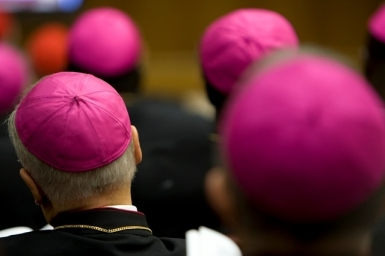 Pope Francis: A bishop `remains` with his flock with paternal affection and a sense of humor