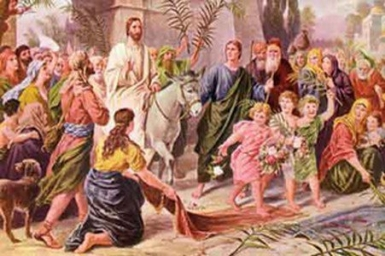 """""""Truly, this man was the Son of God"""" - Palm Sunday (B)"""