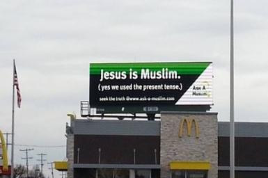 Jesus a Muslim? Fail